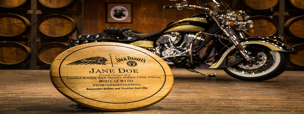 Jack Daniels Team Up for Limited Edition Motorcycles