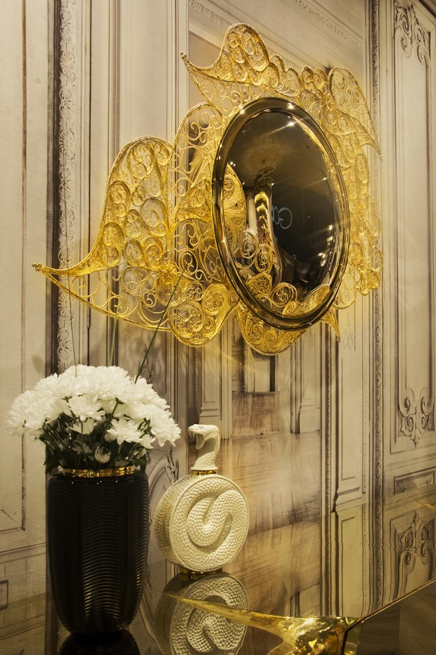Filigree Mirror