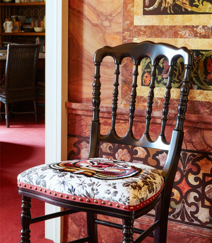 Gucci Gucci Applies Latest Fabric Motifs to Limited-Edition Chairs 2 15