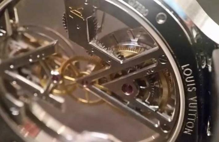 Louis Vuitton Louis Vuitton's New Poinçon de Genève Watch 3 10