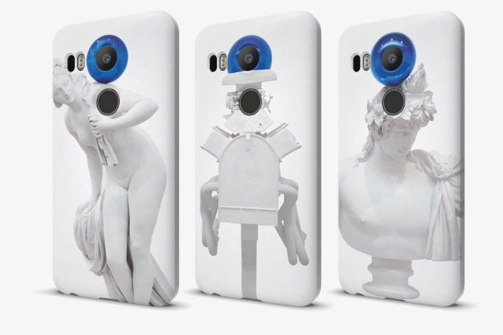 Google Teams Up With Jeff Koons For Limited-Edition Nexus Phone Cases