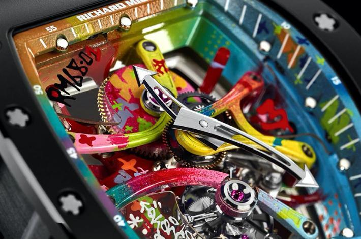 6 Richard Mille Bespoke Timepiece Company Richard Mille Unveils RM 68-01 Edition 6 14