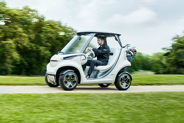 Mercedes-Benz Releases the Most Luxurious Golf Cart on the World
