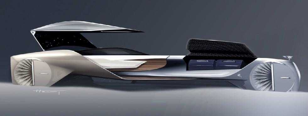 Rolls-Royce Reveals First Luxury Driverless Car Concept