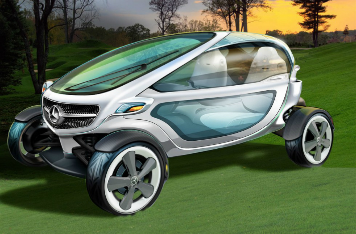 4 Mercedes-Benz Mercedes-Benz Releases the Most Luxurious Golf Cart on the World 4 8