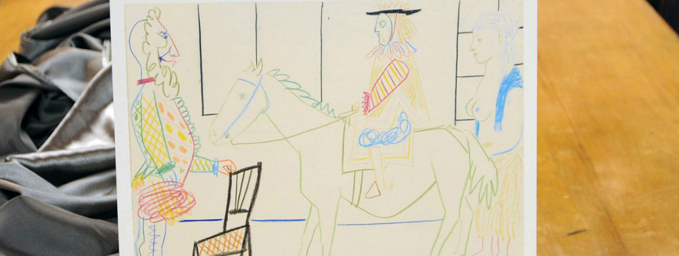 "Meet ""Au cirque"": the First Original Pablo Picasso Drawing Pablo Picasso Meet ""Au cirque"": the First Original Pablo Picasso Drawing Feature"