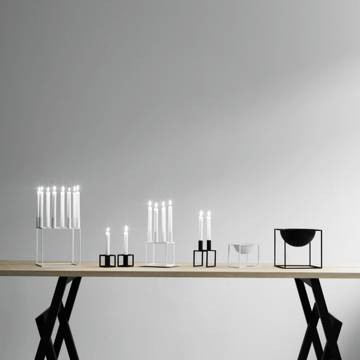 mogens lassen Mogens Lassen's Limited Edition Kubus 4 Candleholder 1 12