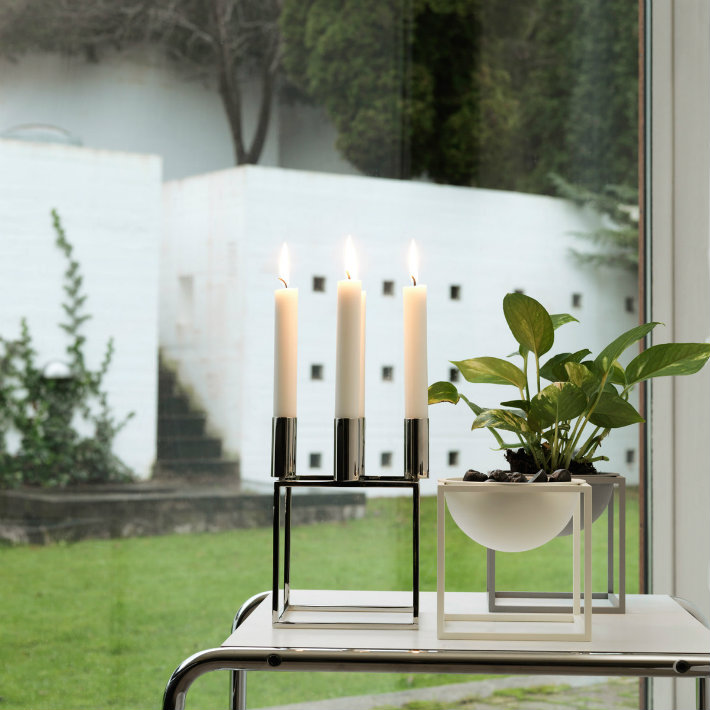 mogens lassen Mogens Lassen's Limited Edition Kubus 4 Candleholder 2 10