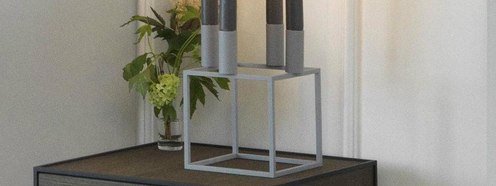 Mogens Lassen's Limited Edition Kubus 4 Candleholder