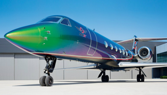 """High Art"": A Totally New Meaning with Custom Private-Jet ..."