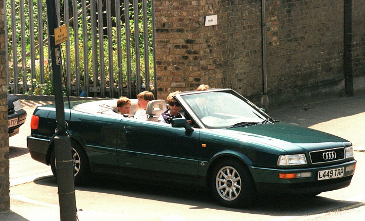 Princess Diana and Queen Elizabeth II's Cars Are up for Auction