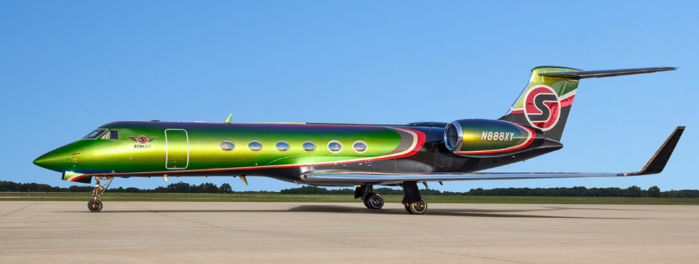 """""""High Art"""": A Totally New Meaning with Custom Private-Jet Exteriors Private-Jet """"High Art"""": A Totally New Meaning with Custom Private-Jet Exteriors 3 10"""