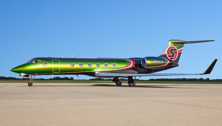 High Art A Totally New Meaning With Custom Private Jet