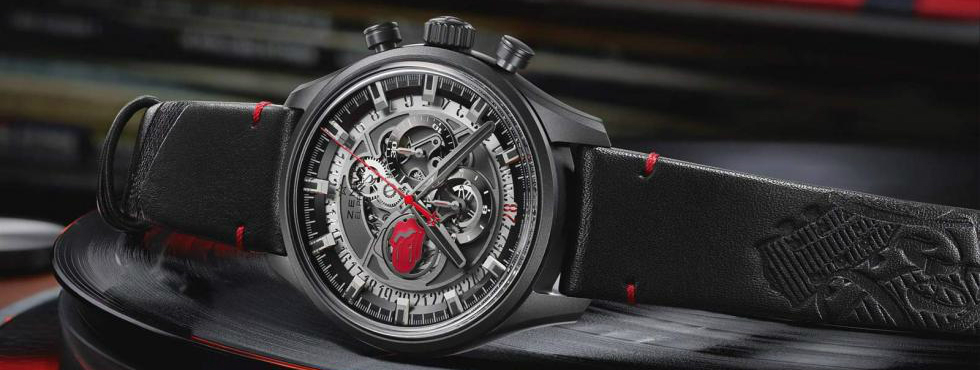 Rock n' Roll with Zenith's New Rolling Stones Limited Edition Watch
