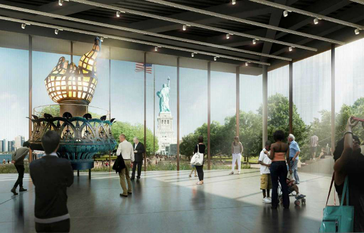The Incredible Designs for the Statue of Liberty's New Museum