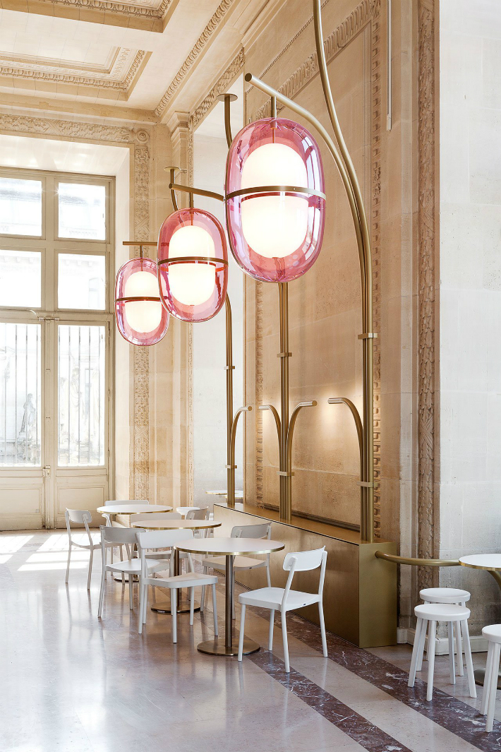 5 mathieu lehanneur Café Mollien: the Louvre Under New Light by Mathieu Lehanneur 5 22