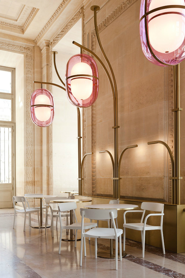 7 mathieu lehanneur Café Mollien: the Louvre Under New Light by Mathieu Lehanneur 7 10