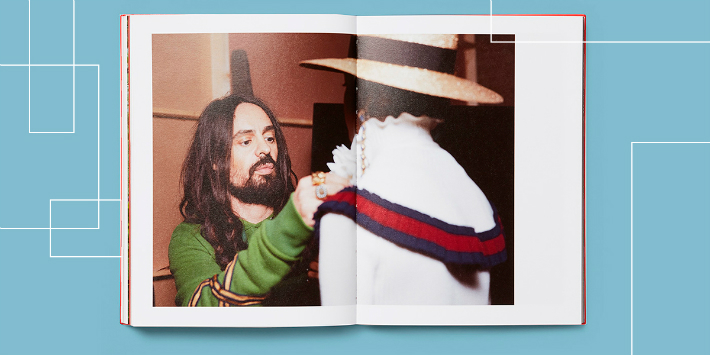 Gucci Unveils Limited Edition Photo Book 'Blind For Love'
