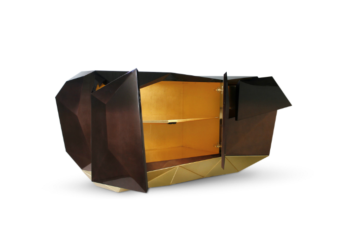 Limited Edition Christmas Guide: Exclusive Gold Items gold items Limited Edition Christmas Guide: Exclusive Gold Items diamond chocolate sideboard boca do lobo 05