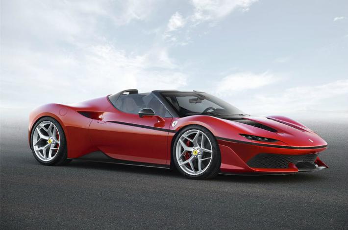 ferrari Limited-edition Ferrari J50 revealed in Japan ferrari j50 3 4 fr