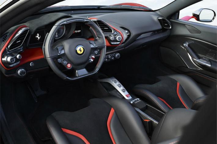 ferrari Limited-edition Ferrari J50 revealed in Japan ferrari j50 int 01