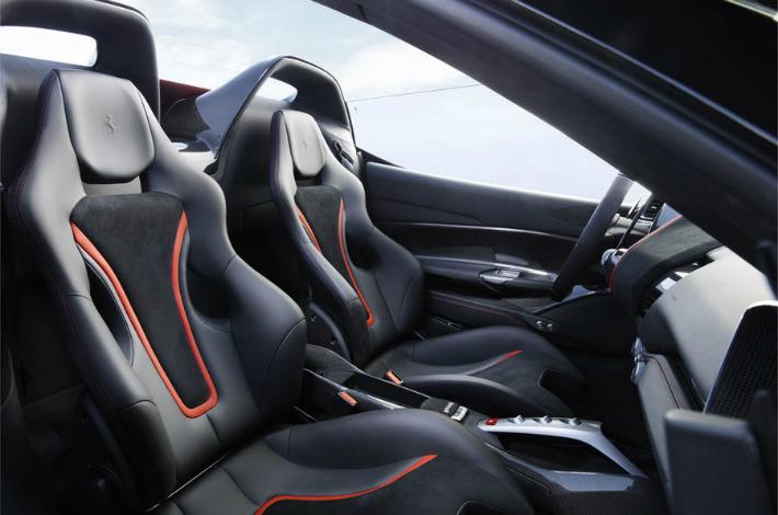 ferrari Limited-edition Ferrari J50 revealed in Japan ferrari j50 int 02