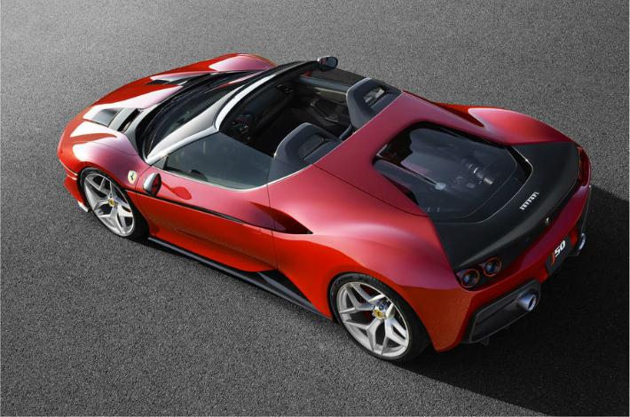 ferrari Limited-edition Ferrari J50 revealed in Japan ferrari j50 r