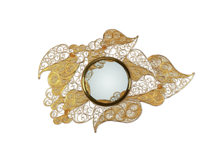 Limited Edition Christmas Guide: Exclusive Gold Items gold items Limited Edition Christmas Guide: Exclusive Gold Items filigree mirror 01