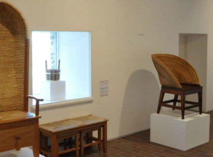 Limited Edition Orkney Chair by David Kirkness in Exhibition