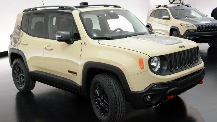 Discover Renegade Desert Hawk by Jeep