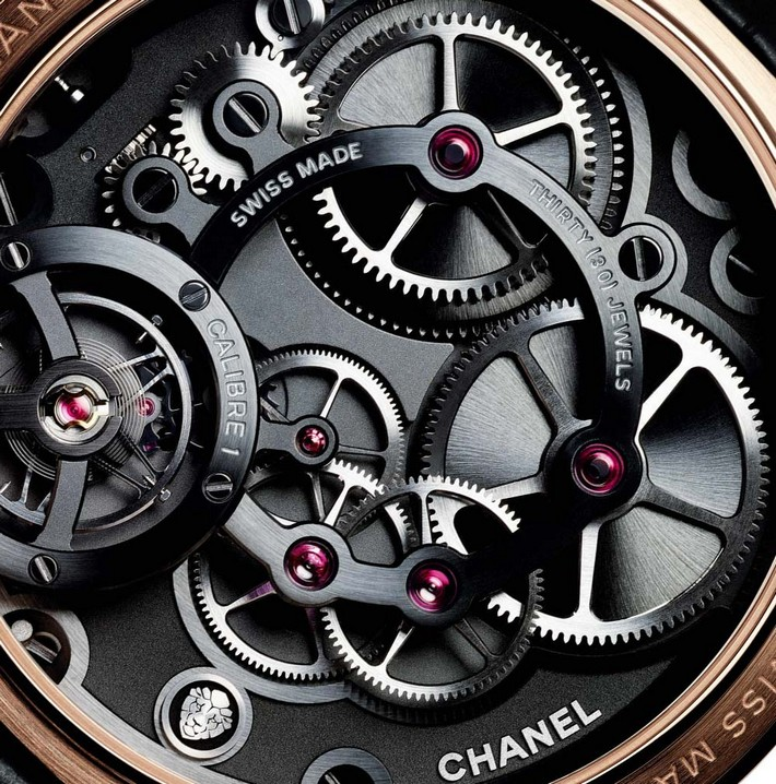 Chanel's Limited Edition: Monsieur Chanel's Limited Edition Chanel's Limited Edition: Monsieur Chanel Monsieur watch platinum 2017 2