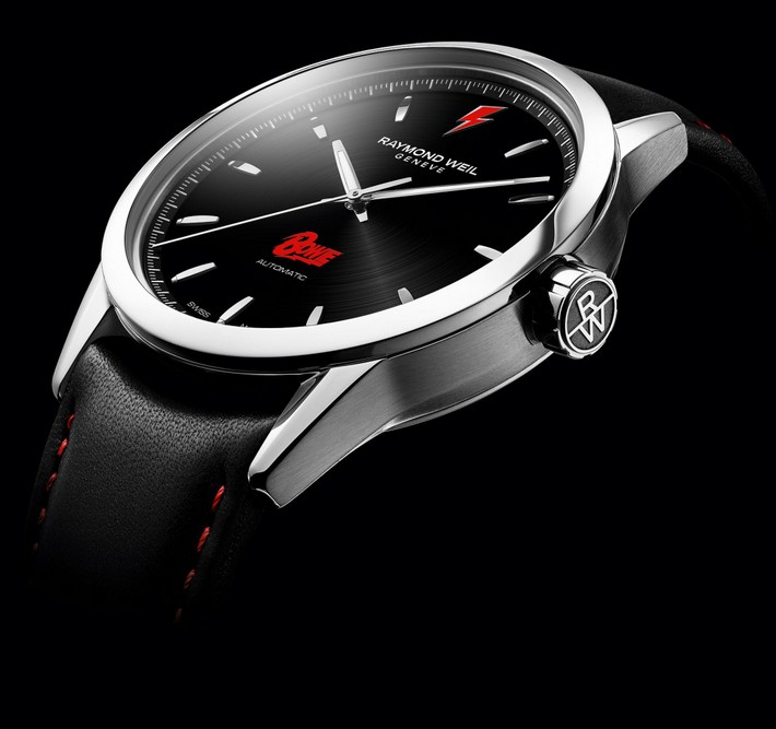 2192.6868 David Bowie Limited-edition Swiss watch in honor of David Bowie 2192