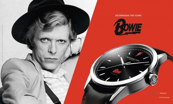 2192 David Bowie Limited-edition Swiss watch in honor of David Bowie 2192