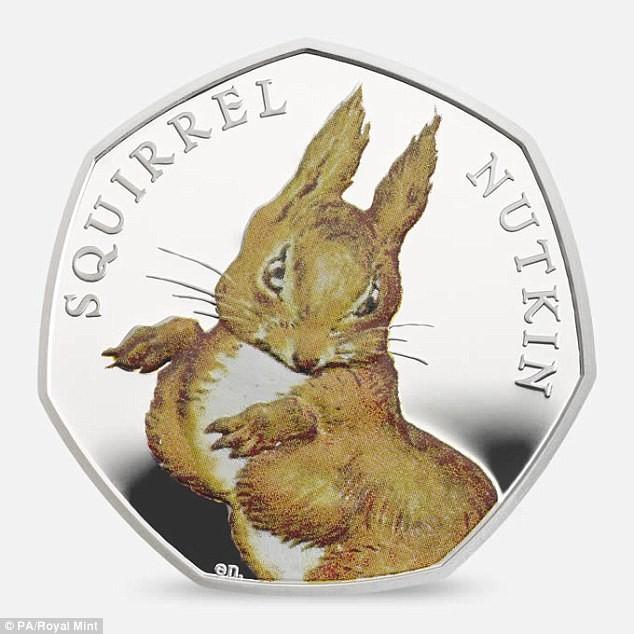 Beatrix Potter's Limited Edition 50p coins Beatrix Potter Beatrix Potter's Limited Edition 50p coins 32C5D95400000578 3520510 image a 65 1459609610541