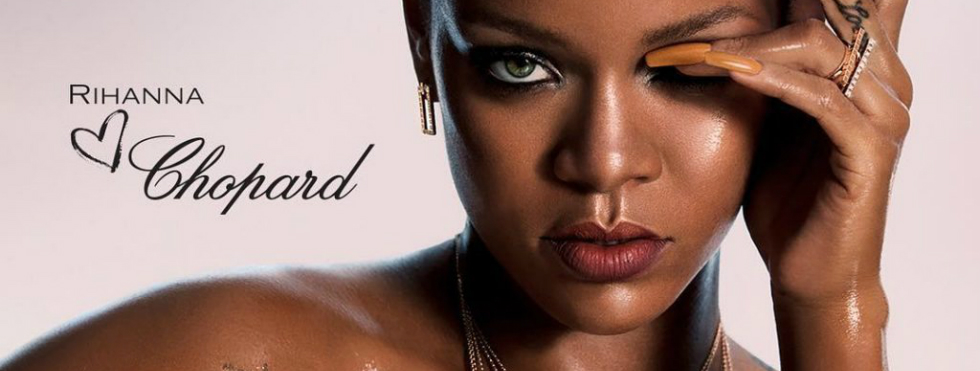 Rihanna is the new face of Chopard's Limited Edition