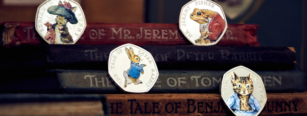 Beatrix Potter's Limited Edition 50p coins Beatrix Potter Beatrix Potter's Limited Edition 50p coins beatrixpotter2222