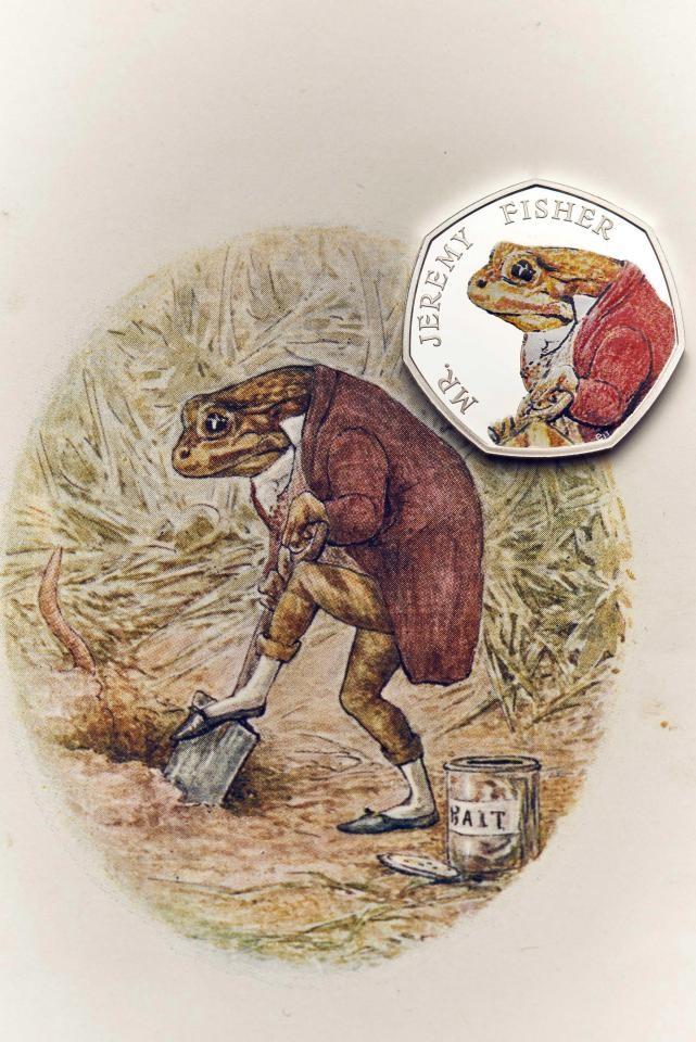 Beatrix Potter's Limited Edition 50p coins Beatrix Potter Beatrix Potter's Limited Edition 50p coins nintchdbpict000313500165