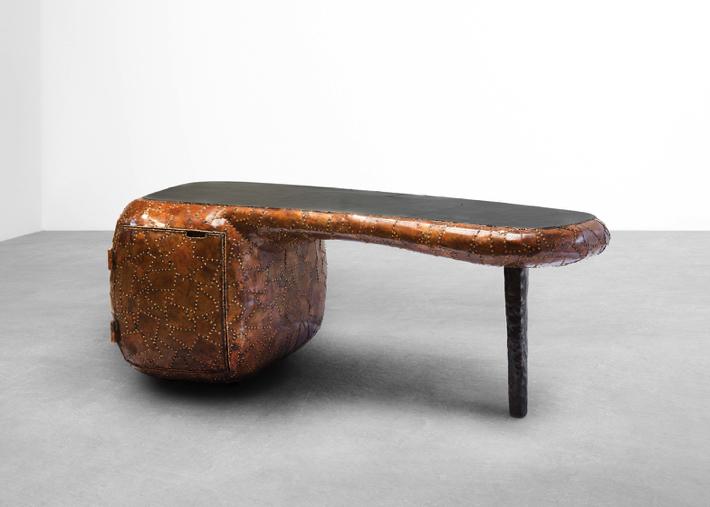6 maarten baas Maarten Baas Exhibits Shell Inspired Furniture Pieces in New York 6 1