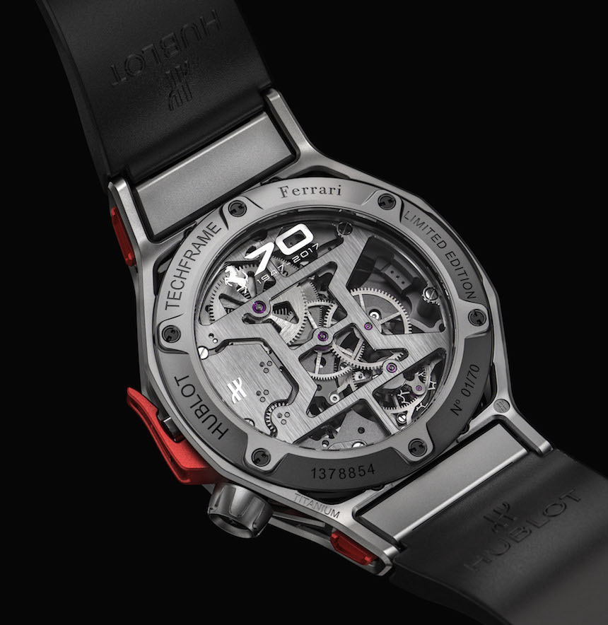 Ferrari Celebrates 70th Anniversary With Watch (4) hublot watch Ferrari Celebrates 70th Anniversary With Hublot Watch Ferrari Celebrates 70th Anniversary With Hublot Watch 4