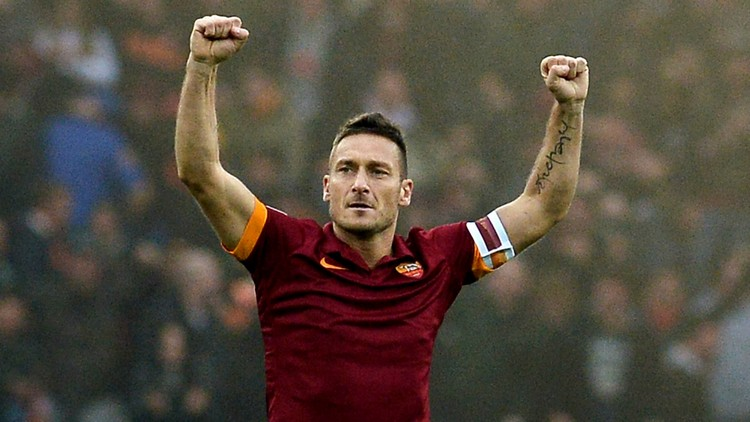 Gold Boots: A Limited Edition by Nike Francesco Totti
