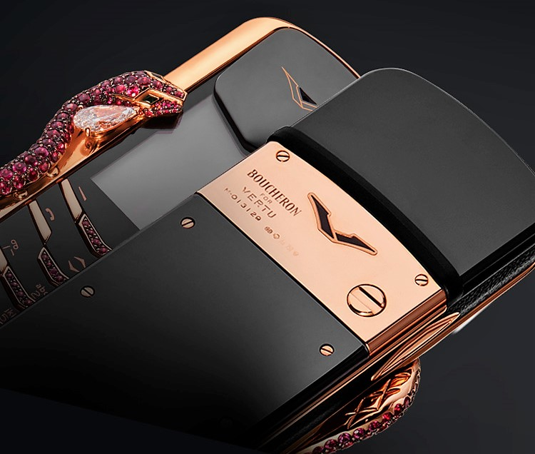 Vertu Signature Cobra Limited Edition Phone limited edition Vertu Signature Cobra Limited Edition Phone Discover Vertu Signature Cobra Phone Limited Edition 1