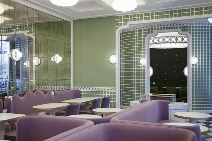 india mahdavi India Mahdavi – The Best of French Restaurants Designs La Duree 02