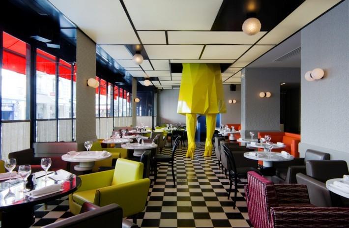 india mahdavi India Mahdavi – The Best of French Restaurants Designs germain mg 4207