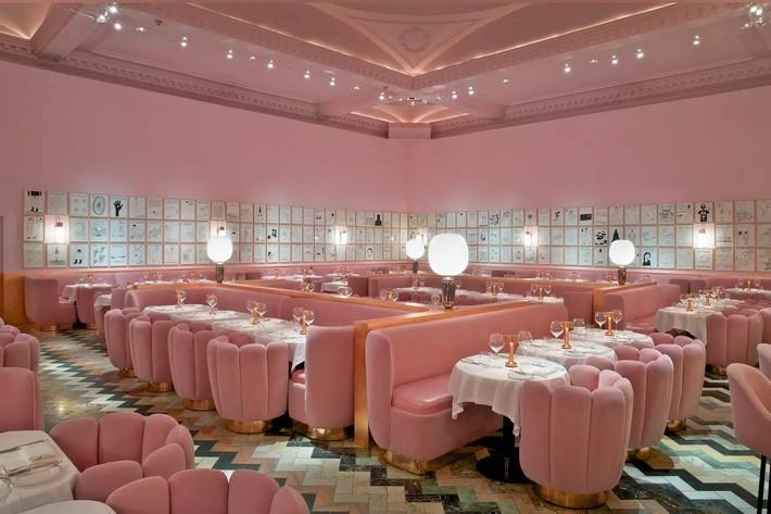india mahdavi India Mahdavi – The Best of French Restaurants Designs image