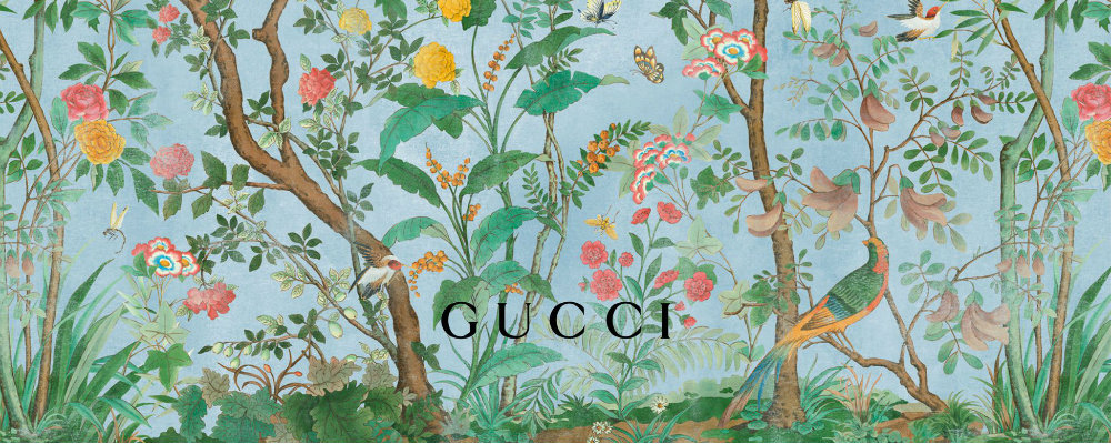The fairy tale paitings of GUCCI X PHANNAPAST TAYCHAMAYTHAKOOL