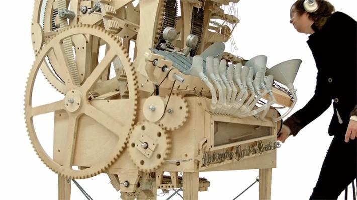 exclusive design Exclusive Design: Orchestra Machine Creates Music With Marbles Exclusive Design Orchestra Machine Creates Music With Marbles 2