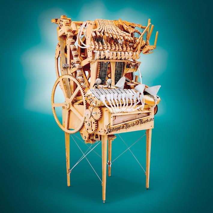 exclusive design Exclusive Design: Orchestra Machine Creates Music With Marbles Exclusive Design Orchestra Machine Creates Music With Marbles 5
