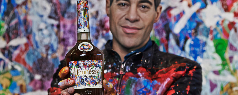 Hennessy and JonOne for the most beautiful Limited Edition Bottle