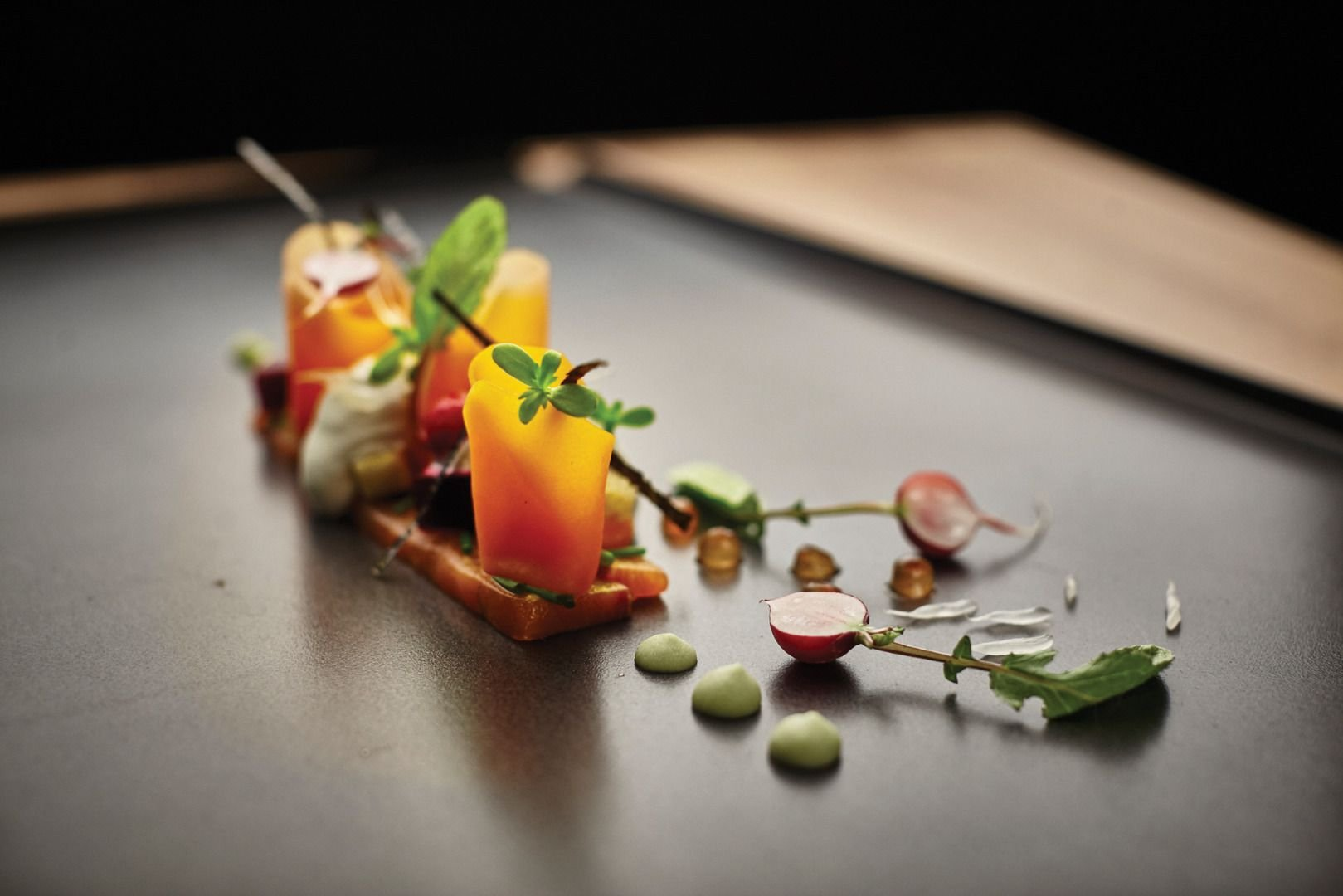 Top Restaurants Around the World for a Limited Edition Experience top restaurants Top Restaurants Around the World for a Limited Edition Experience Baraka salmon