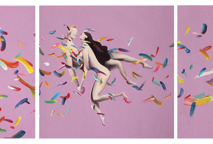 Art Illustration Discover the Emotional Nicolò Canova's Art Illustration pittoricontemporanei4